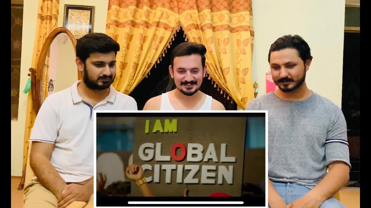 Global citizen festival india | 🇵🇰 Boys Reaction On India Film Factory Production's Video.