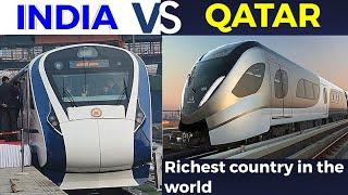 Indian Railways VS Qatar Railways | Railway comparison | 2020