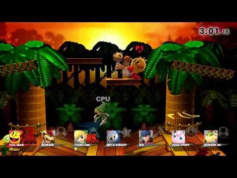 Super Smash Bros For Wii U Classic Mode As Pac-Man
