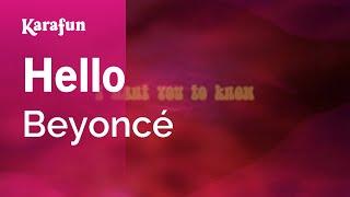Karaoke Hello - Beyoncé *
