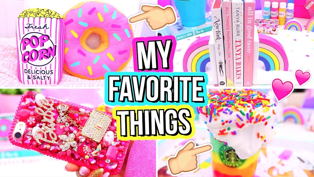 My Favorite Things Room Decor Slime Makeup Youtube