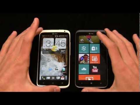 HTC One X vs. HTC Titan II Dogfight Part 2