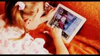 Пазлы: Маша и Медведь для iPad