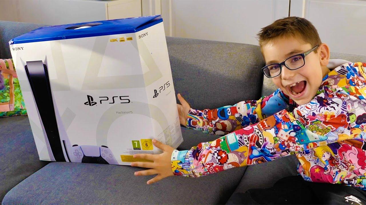 Download JE DÉCOUVRE LA PS5 ! (Nouvelle Console Sony PlayStation 5)