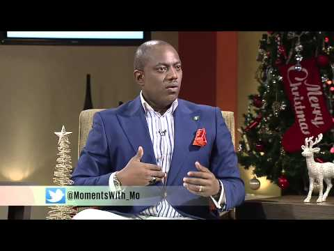 Staying on track in the New Year with Fela Durotoye on Moments With Mo