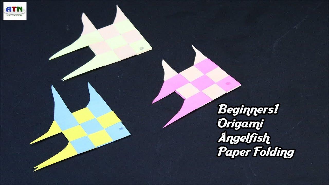 origami angelfish - YouTube   720x1280