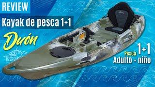 "Vídeo: Kayak de Pesca ""Duon"" 1+1"