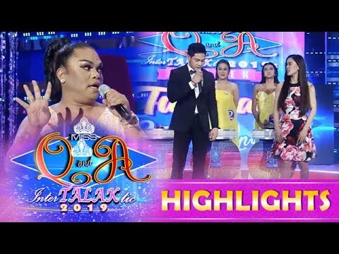 It's Showtime Miss Q & A: Didong Dantes Avanzado teaches Ion and Jackque festival dance steps