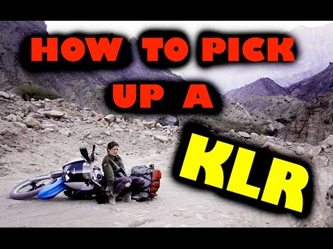 I can't pick up my KLR !  OH NO !!  -  Episode 3