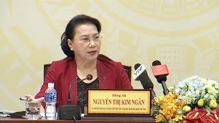 Chủ tịch Quốc hội Nguyễn Thị Kim Ngân thăm và làm việc tại tỉnh Tây Ninh
