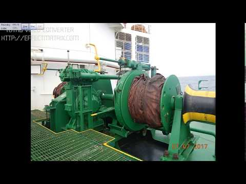 Checking The Mooring Winch Brake Holding Capacity Test - Par