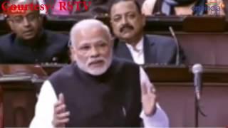 Comment of the year by Modi: मनमोहन सिंह बाथरूम में रेनकोट पहनकर नहाते है!