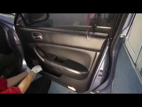 Door Removal Honda Accord 7th)) Разборка двери и снятие дверной ручки!