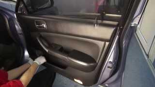 Door removal Honda Accord 7th)) Разборка двери и снятие дверной ручки!(АвтоЮвелир моя профессия http://bezpokraski.spb.ru/, 2014-04-03T21:56:45.000Z)
