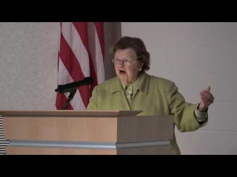 Mikulski Continues Maryland Jobs Tour at NASA's Wallops Flight Facility