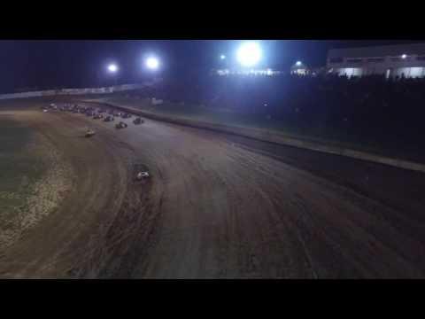 9/3/16 Lincoln Park Speedway Start of Sprint Car A Main