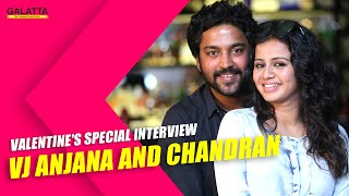 Valentines special interview - VJ Anjana and Chandran