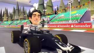 F1 Race Stars - Gameplay Trailer 2 - Features
