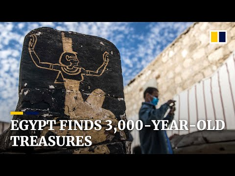 Egypt unveils treasures at ancient site in find that 'rewrites history'