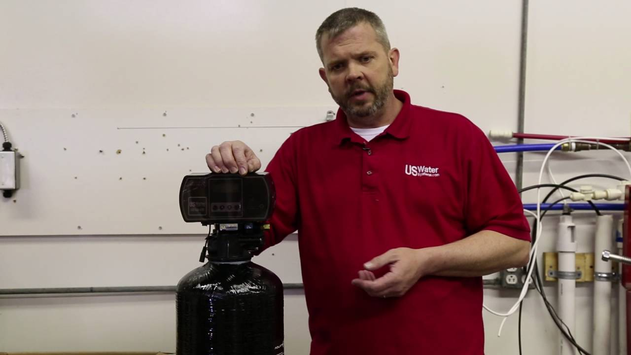 How To Maintain A Water Softener Aquatrol Water Softener Installation Part 1 Of 2 Youtube