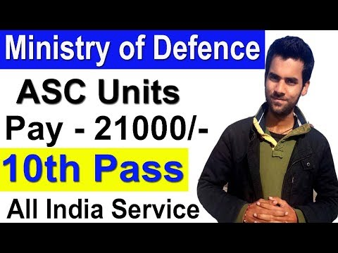10th Pass Latest Defence Job All India Service ASC Units HQ 15 Corps Government Job Vacancies