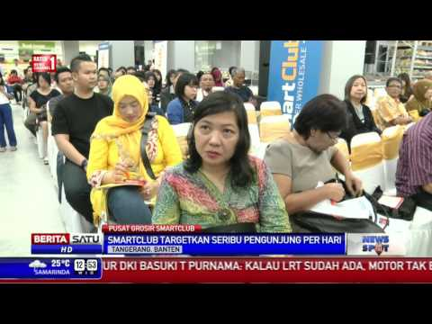 PT Matahari Putra Prima Resmikan Pusat Grosir Smartclub