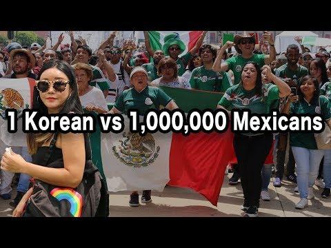 Korean in Mexico City Reacts to MÉXICO vs KOREA! 🇲🇽⚽🇰🇷 (Coreana en CDMX)