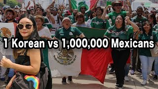 Korean in Mexico City Reacts to MÉXICO vs KOREA! 🇲🇽⚽🇰🇷 (Coreana en CDMX)