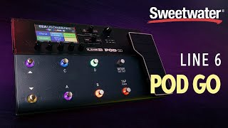 Line 6 POD Go Guitar Multi-effects Floor Processor Demo 🎸