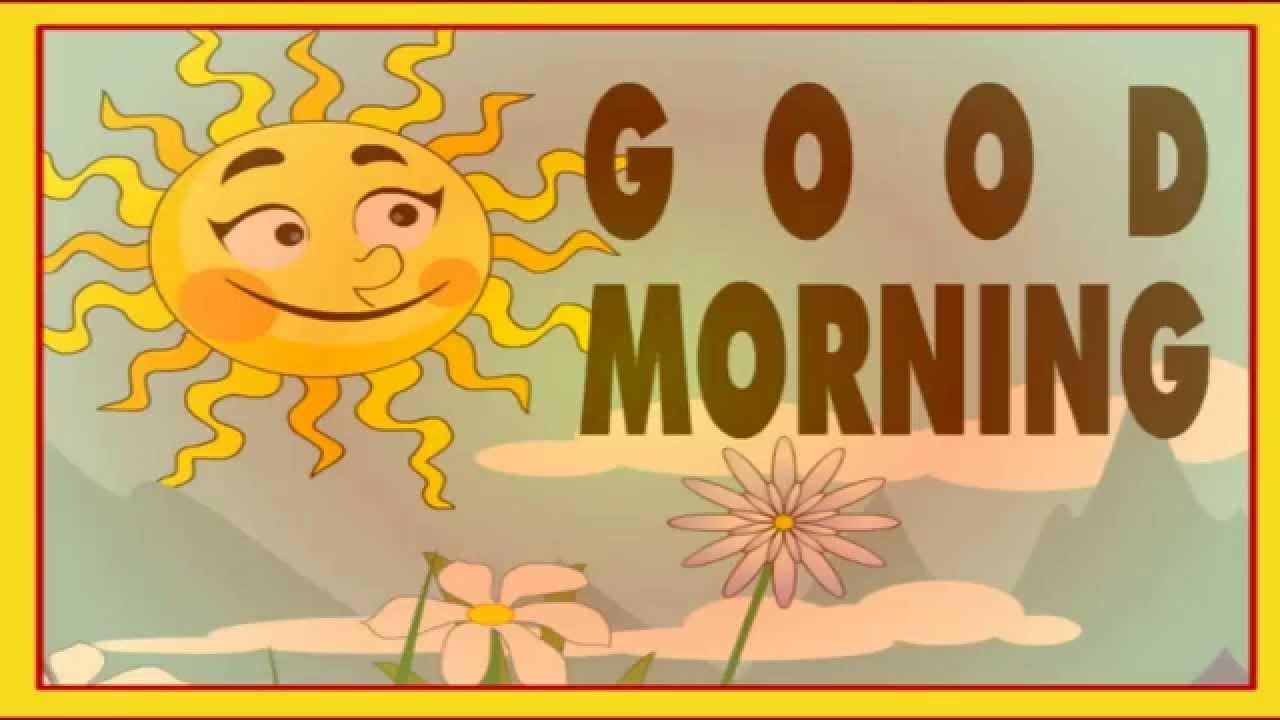 Good Morning || Nursery Rhymes - YouTube