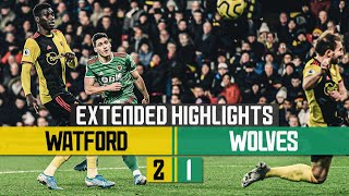 Neto scores his first Premier League goal | Watford 2-1 Wolves | Extended Highlights