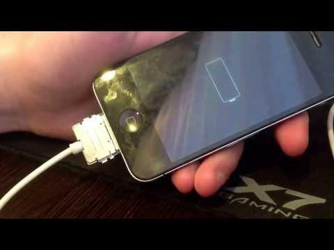 когда айфон 5 на зарядке экран сам нажимаеться оптом