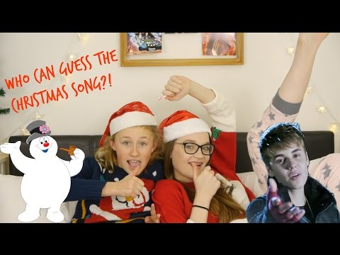 WHO CAN GUESS THE CHRISTMAS SONG?!