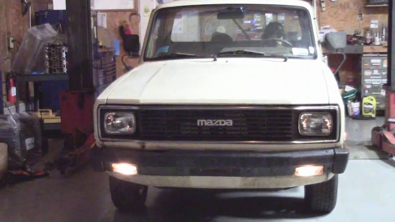 84 Mazda B2000 FE3 final video - YouTube
