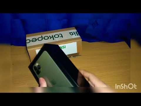 Review Unboxing Iphone 11 Pro Max 512Gb Set Hongkong (dual Nano Sim) Warna Green INDONESIA