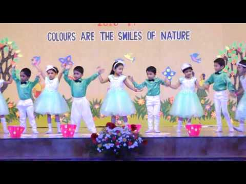 Dance performance by UKG students of St Mary's English Medium School, Udupi 2016