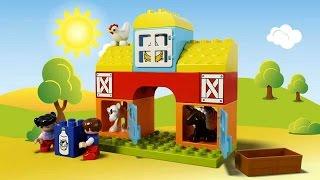 Лего Дупло Моя первая ферма. Lego Duplo My First Farm. 乐高得宝我第一次农场