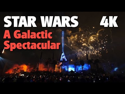 BEST VIEW - Star Wars: A Galactic Spectacular Fireworks | Disney's Hollywood Studios