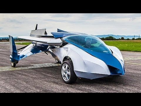 The Most Amazing Real Flying Cars