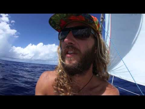 Sailing Marshall Islands to Anuta Day 8 asym
