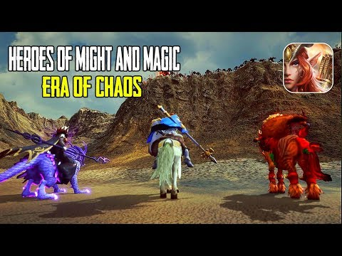Heroes Of Might And Magic: Era Of Chaos Android/IOS Gameplay