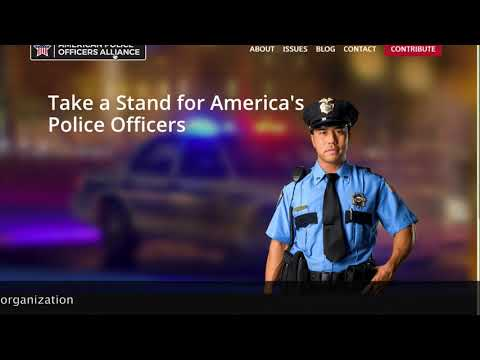 """Unsolicited call from John from """"the American Police Officers Alliance"""""""