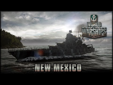 World of Warships - New Mexico - Gewertete Gefechte [ deutsch | gameplay ]