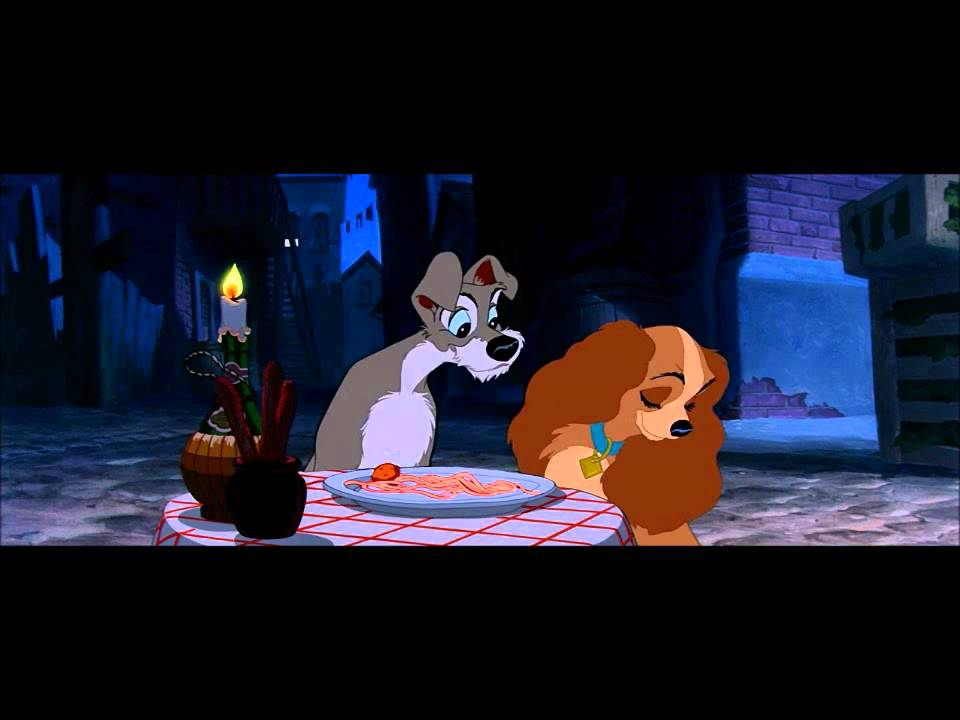 Lady And The Tramp Bella Notte Hd Youtube