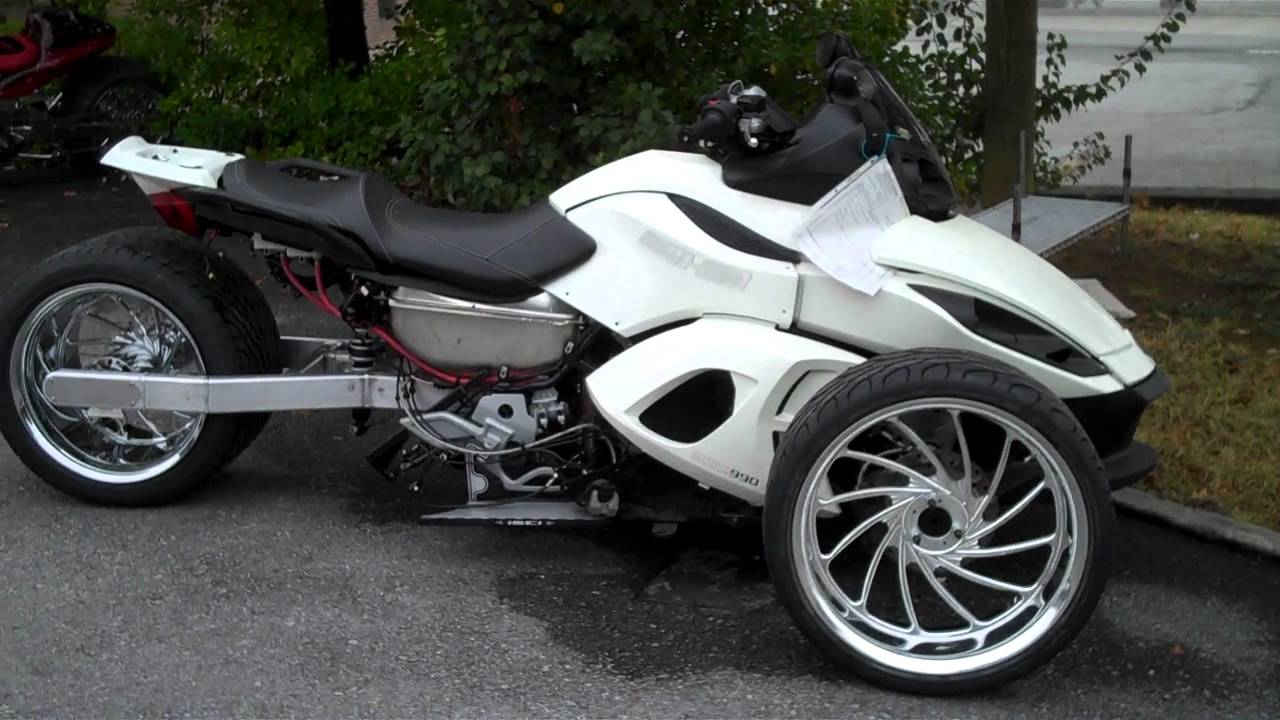 Can Am Spyder 360 Fat Tire Monster Call Daniel At 1 615 431 2294