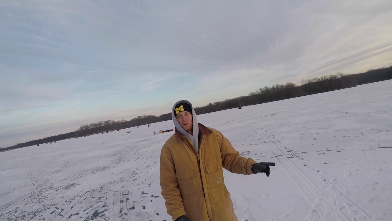 Ice fishing willow slough 2017 youtube for Ice fishing 2017