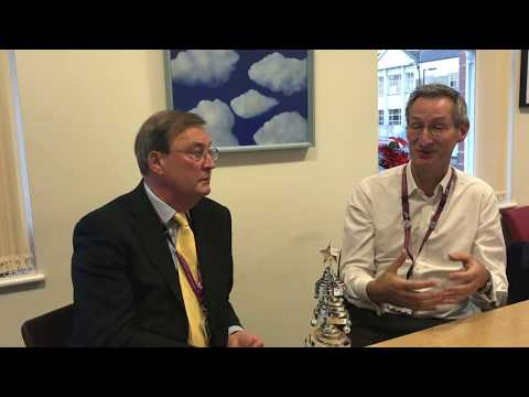 Chairman Roger Paffard and Chief Executive Dr Matthew Patrick discuss Changing Lives