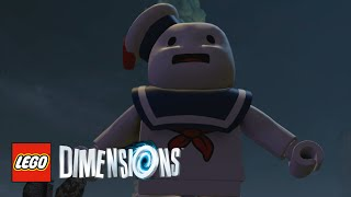 LEGO Dimensions - Stay Puft Free Roam With Commentary