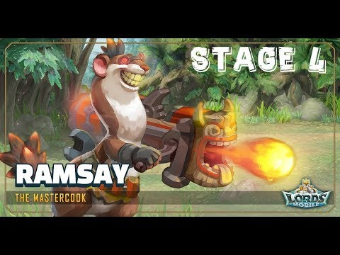 Lords Mobile Limited Challenge - CRAZY CHEF Stage 4