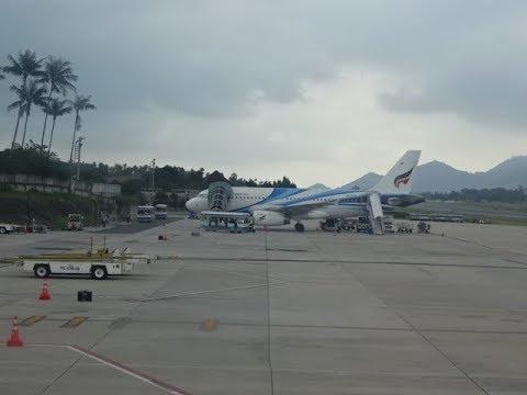 Bangkok Airways Airbus A319 – Koh Samui, Thailand to Singapore
